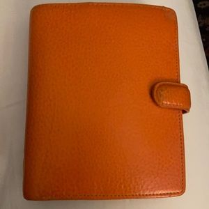 Authentic Filofax Pocket Finsbury with Accessories